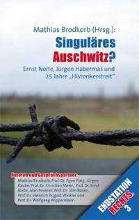 Cover Singulaeres Auschwitz